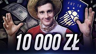 OTWORZYŁEM PACZKI O WARTOŚCI 10,000 ZŁ NA TOTY! FIFA 18 ULTIMATE TEAM