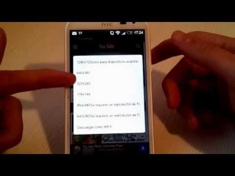 Descargar videos y canciones desde Android totalmente gratis  Tubemate //AndroTube