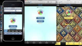 MiU Project 4 :: mobile web app :: html5, css3, js, jquery, jquery mobile, accordian fold