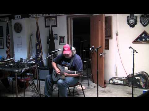 Texas Blues artist Pat O'Bryan - Dust My Broom
