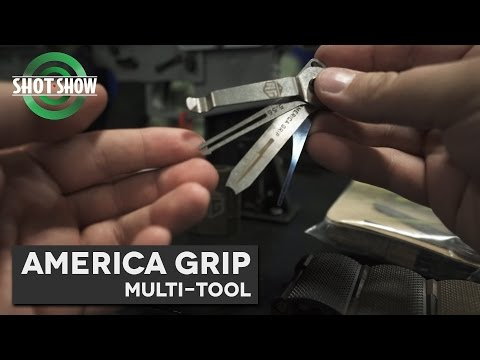 America Grip Tool kit- SHOT Show 2017!