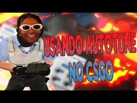 USANDO AUTOTUNE NO CSGO! (777 SKR)