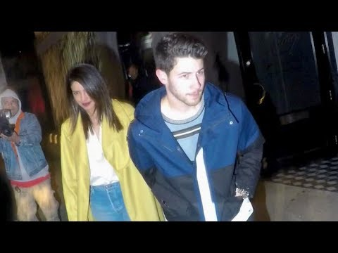 Newlyweds Nick Jonas And Priyanka Chopra Can't Escape The Spotlight After Romantic Dinner Date Mp3