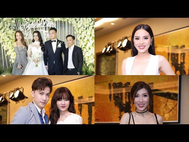 Dàn khách mời lộng lẫy, đình đám đến mừng đám cưới Diệp Lâm Anh