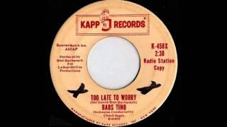 Babs Tino - Too Late To Worry