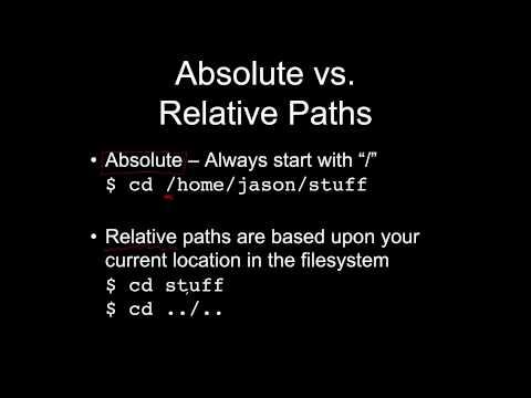 Path & Command Basics