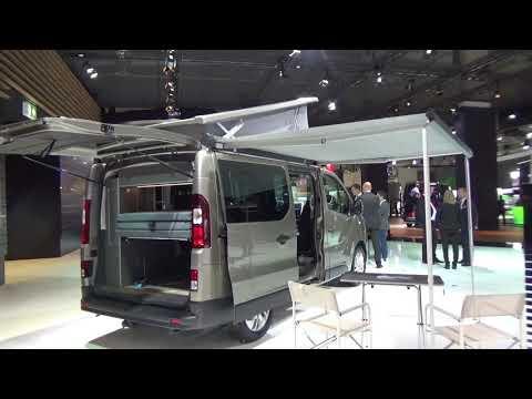 Nissan NV300 dCi 145 hp 6MT Michelangelo Westfalia Combi Van 2019 Exterior and Interior Walkaround