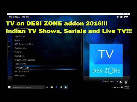 How To Setup And Install Desi Zone Addons on Kodi | Best