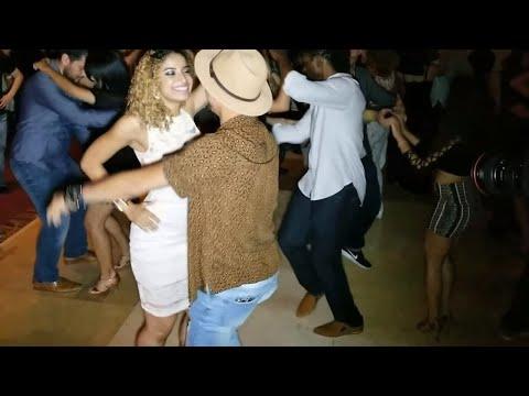 Tanja La Alemana, Serenaded By A Fan @ 2017 Las Vegas Salsa Bachata Super Congress