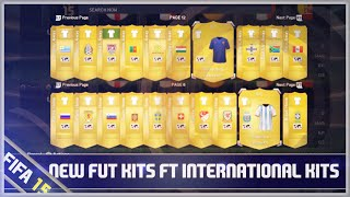 FIFA 15 Ultimate Team: New International, Classic & Club Kits