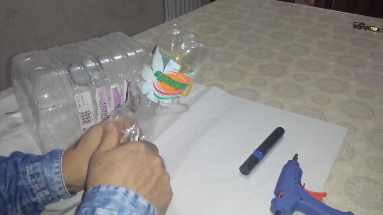 Creare una trappola per prendere pesci vivi con bottiglie for Creare pesci