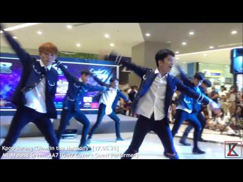 """All Around Seven - AA7 (Got7 Cover - Guest Performance) on Kpop Sarang """"Glow in the Harmony"""""""
