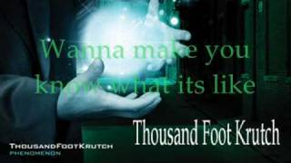 Thousand Foot Krutch Learn To Breath With Lyrics