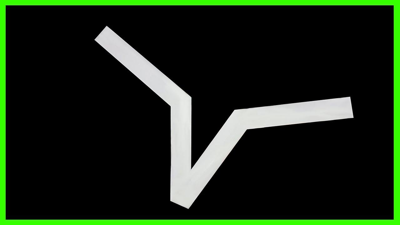 How to make paper boomerang ver 3   Cách gấp boomerang bằng giấy A4 đơn giản.
