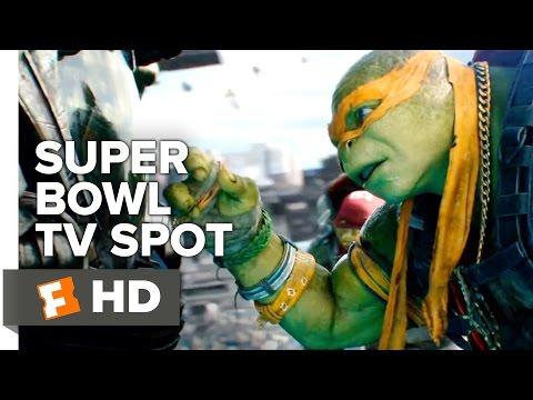 Teenage Mutant Ninja Turtles: Out of the Shadows Super Bowl Spot (2016) - Megan Fox Movie HD