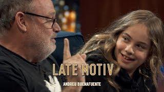 LATE MOTIV - Mafalda Carbonell. La última vez que viene con su padre   #LateMotiv584