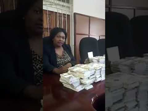 Counterfeit money intercepted in Lusaka