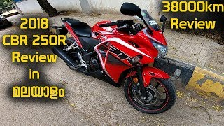 2018 CBR250R Malayalam Review || 38000km Experience talk