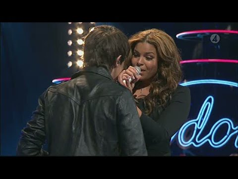 Jordin Sparks och Kevin Borg - No air - Idol Sverige (TV4)
