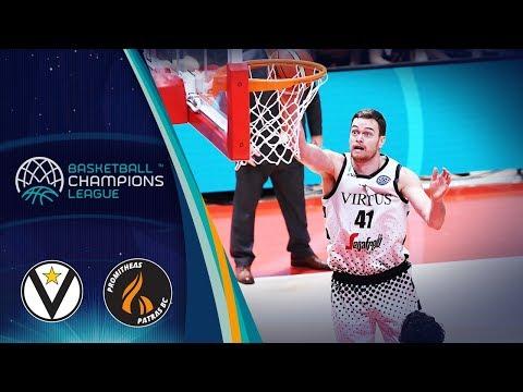 Segafredo Virtus Bologna v Promitheas Patras - Full Game - Basketball Champions League 2018-19