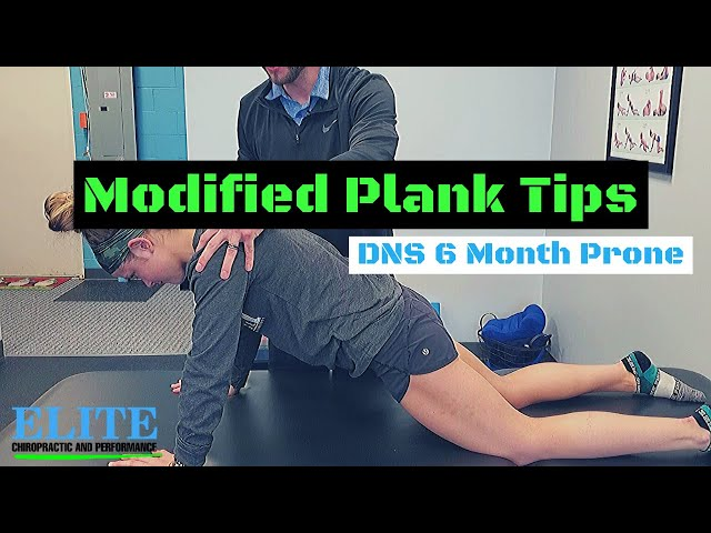 Modified Plank Tips | DNS 6 Month Prone | Chesterfield Chiropractor