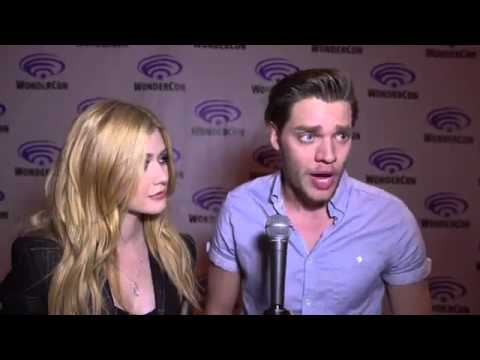 Dominic Sherwood and Katherine McNamara Interview at WonderCon 2016 with Wikia