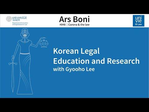 Ars Boni 48 - Korean Legal Education and Research (Seoul)