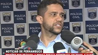 [BRASIL URGENTE PE] Dupla é presa por tráfico de drogas em Ipojuca