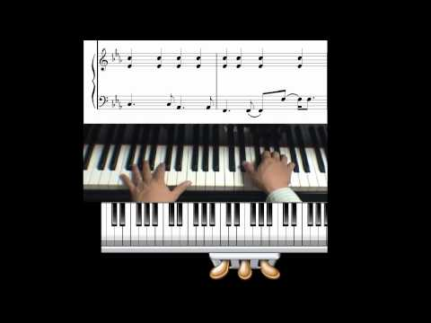How to play Skyfall by Adele on piano
