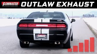 2008 14 dodge challenger srt8 outlaw cat back exhaust system 817563