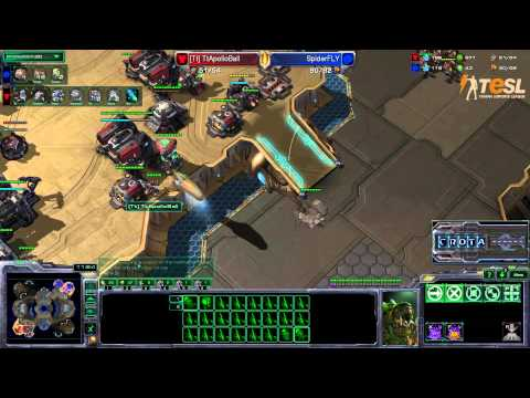 Fly (Z) vs Ball (T) - TESL Season Two Elemination Round - StarCraft 2 - G1