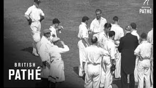 Test Match Continued Aka Fifth Test Match AKA Len Hutton (1938)