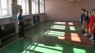 урок фізичної культури з елементами футболу 7 клас НВК ''Школа-гімназія'' м.Дзержинськ