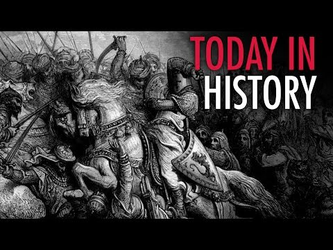 Today in History: Muslim conquest of Spain begins (711)