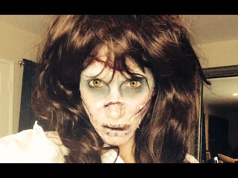 Katsketch demon possessed reagan (from the exorcist) makeup.