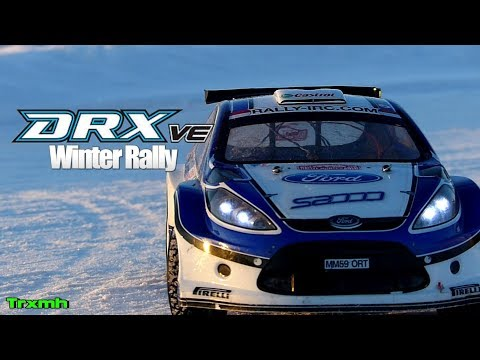 RC Rally Car Kyosho DRX VE - Winter Rally Finland