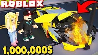 ROZBILIŚMY AUTO ZA 1,000,000$ W ROBLOX | Vito i Bella