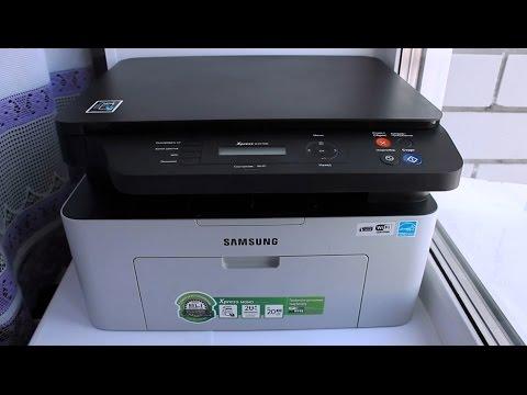 Как снять картридж с принтера самсунг