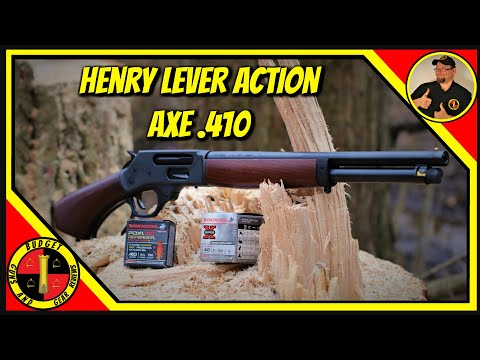 Henry Lever Action Axe .410- Cutting Through The NFA!