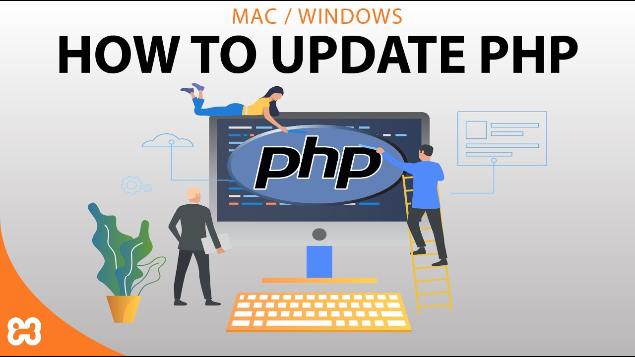 How to update latest php version using xampp