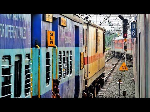 तीन सुपरफास्ट ट्रेनों को ओवरटेक किया दूरंतो एक्सप्रेस नें ।। तमिलनाडु एक्सप्रेस के ओवरटेक की कहानी
