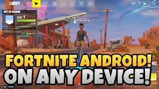 Download FORTNITE ANDROID On Any Device! + Modded APK Link