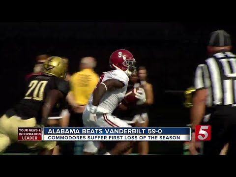 Alabama Flexes Muscle, Provides Reality Check For Vandy