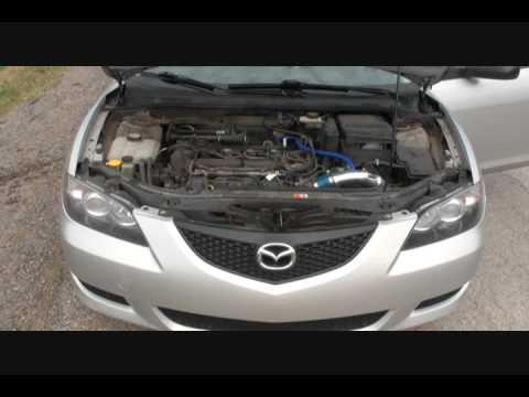 Mazda 3 2.0 153HP Cold Air Intake - YouTube