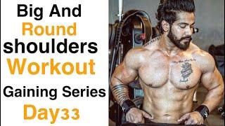 Bigger Shoulder Workout  Complete Shoulder Workout for Mass Gain Indian Body Rajveer Shishodia
