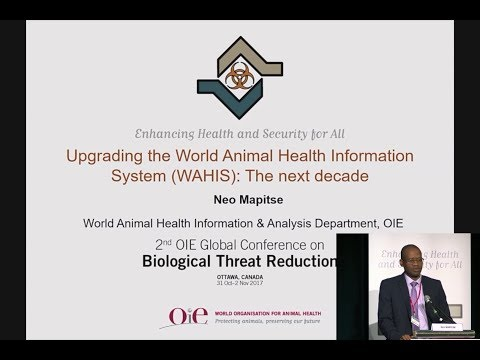 Upgrading the World Animal Health Information System (WAHIS): The next decade