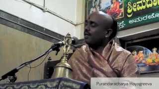Day 4 - Vishnu Rahasya - Purandaracharya Hayagreeva