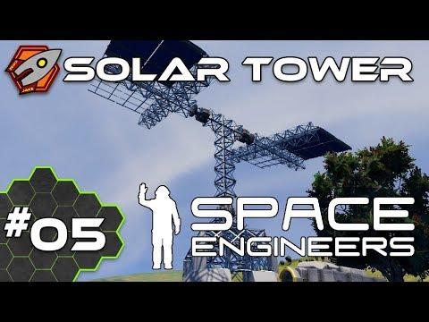Solar Tower - Space Engineers #05
