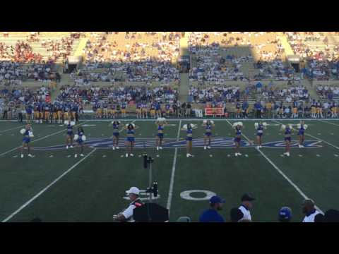 University of Tulsa Pom Squad Dance: Perfect 8 Counts