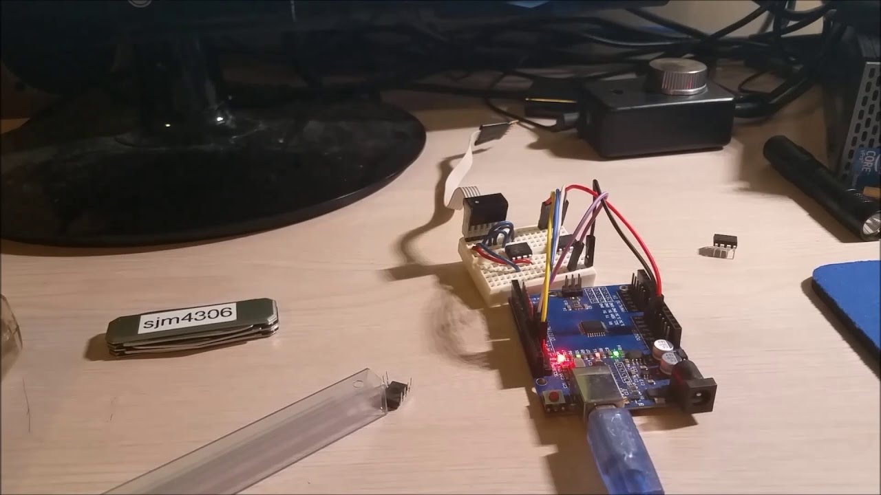 Flashing a PsNee Open Source PS1 Modchip to Arduino and Big Announcement